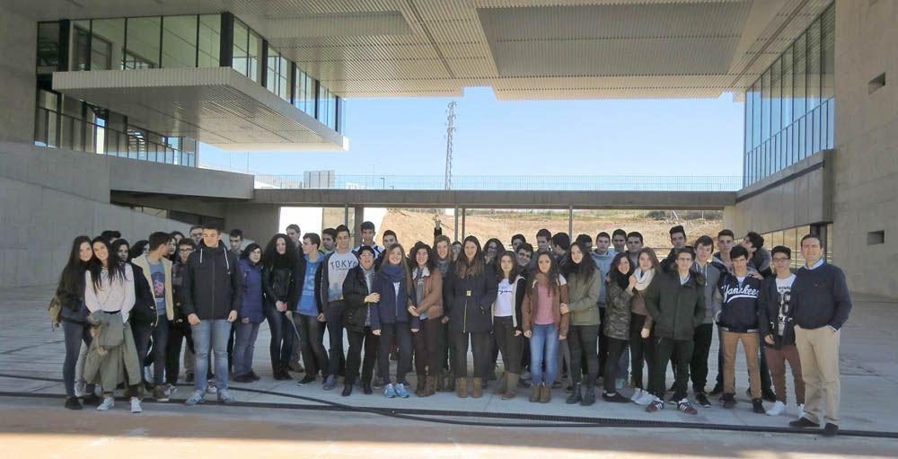 Alumnado de Secundaria conoce el Campus Científico Tecnológico de Linares