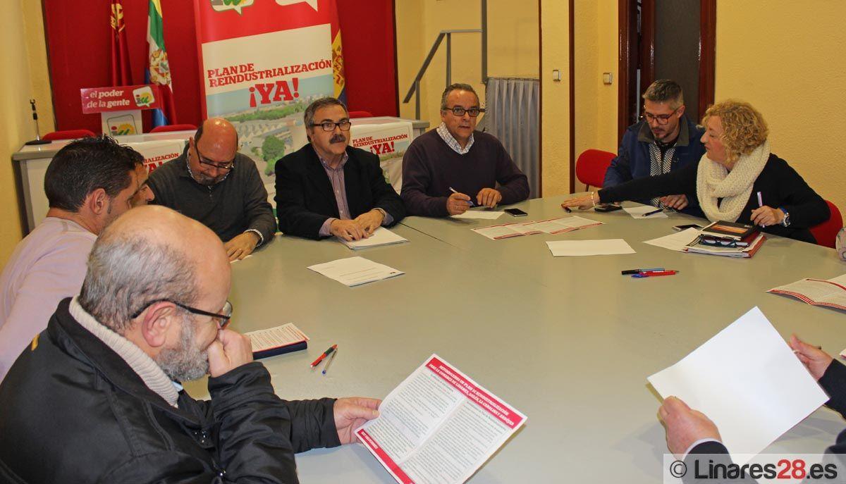 IU presenta su Plan de Reindustrialización a los sindicatos mayoritarios