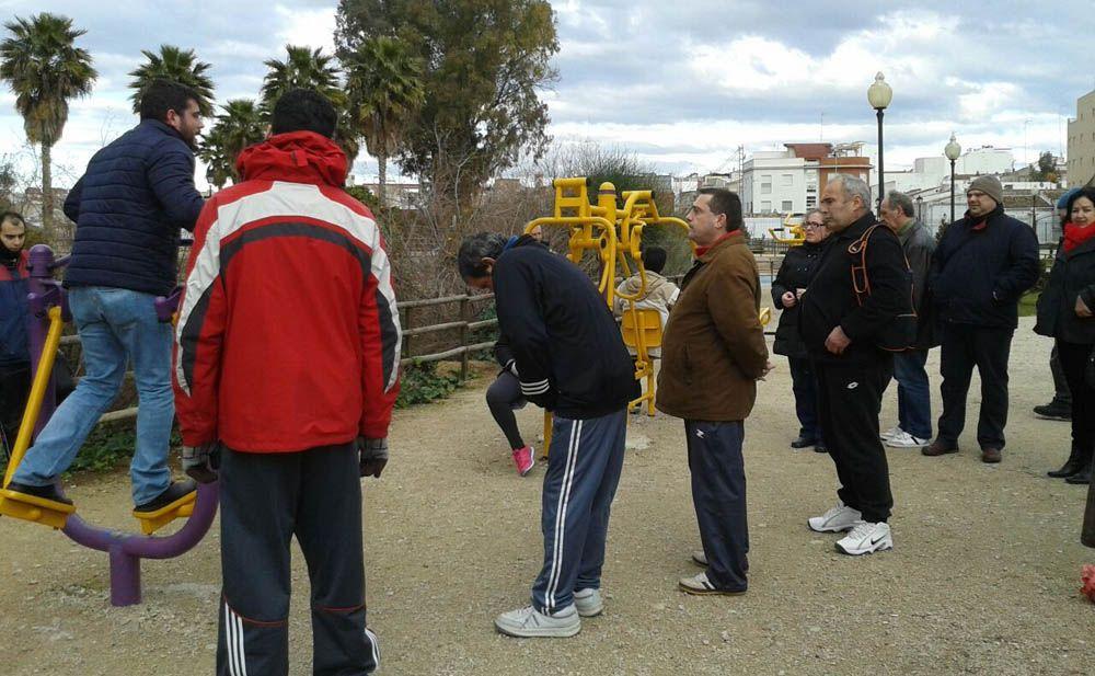 Imparten en Linares un taller para promocionar la actividad física entre los pacientes de salud mental