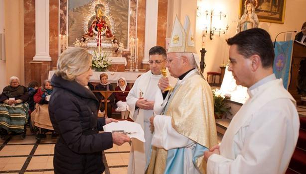 Lolo primer miembro honorario de la Hospitalidad de Lourdes de Jaén