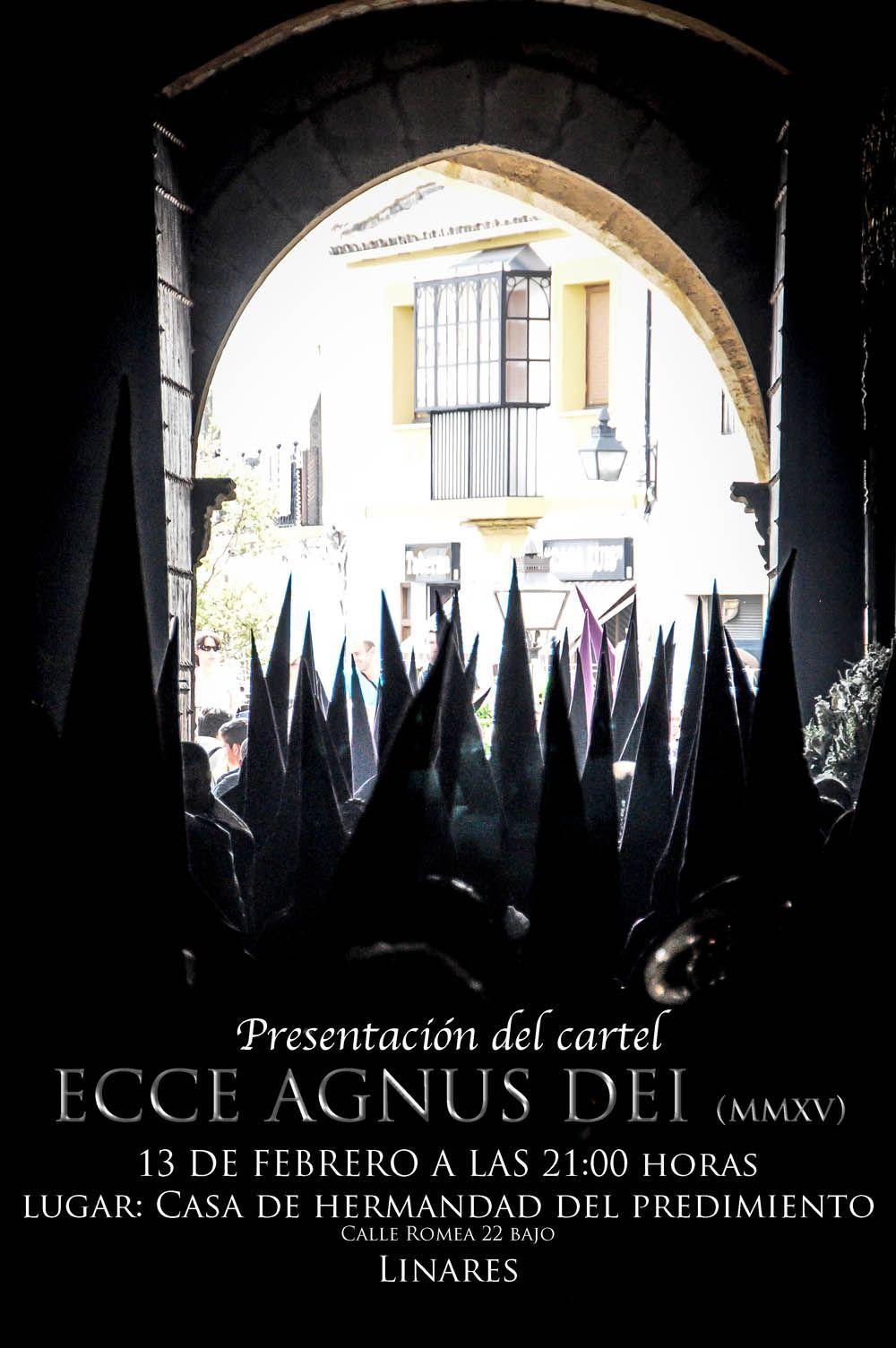 Hoy se presenta el cartel ECCE AGNUS DEI