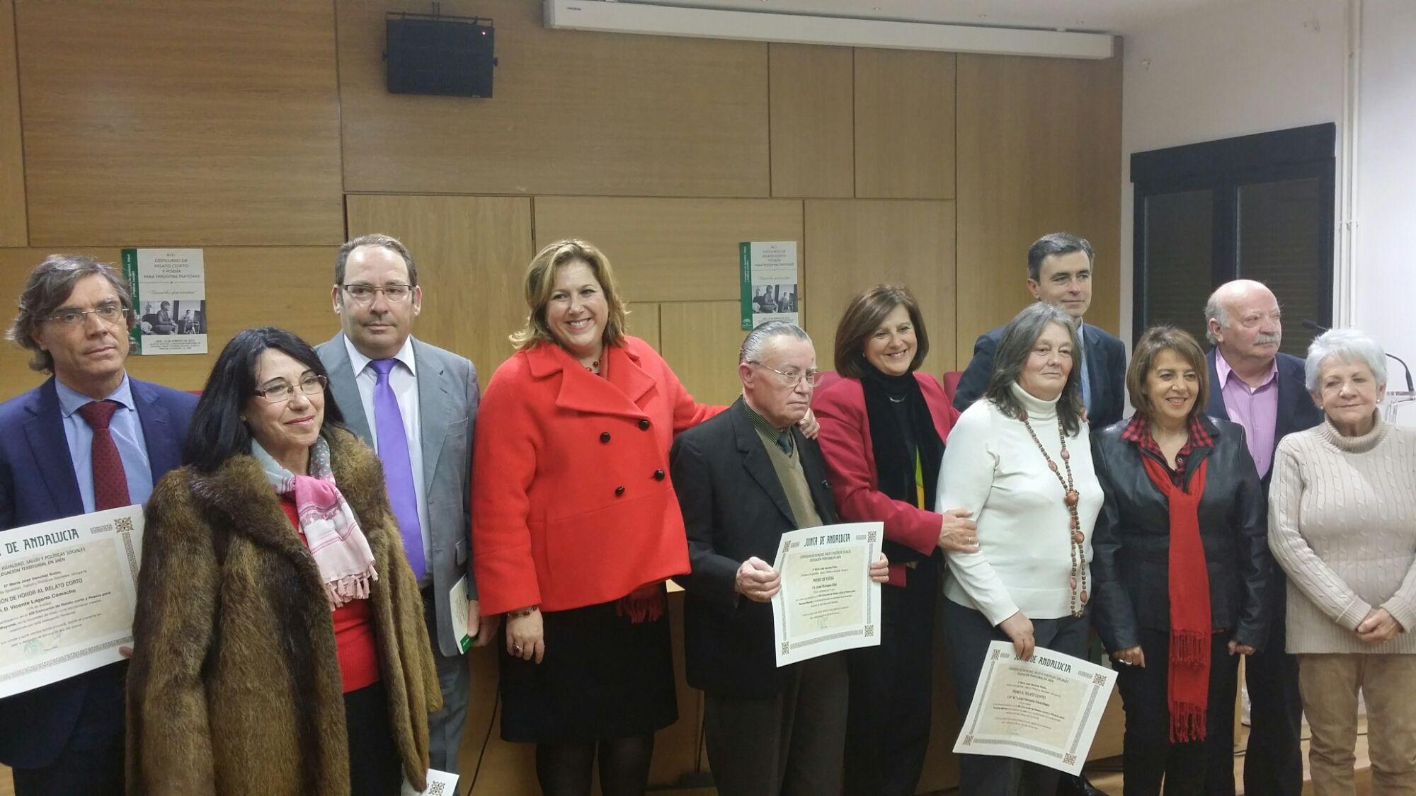 Dos linarenses premiados en el XIII Concurso de Relato Corto y Poesía para mayores de 60 años