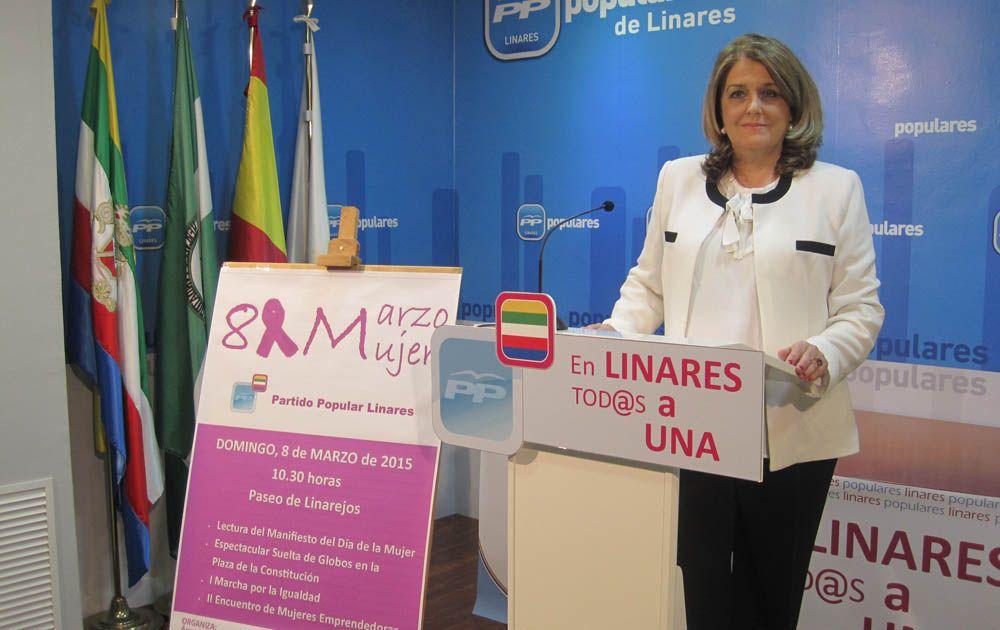 """Ángeles Isac aclara a los linarenses que """"el Partido Popular puso en marcha el Consejo Local de la Mujer de Linares"""""""