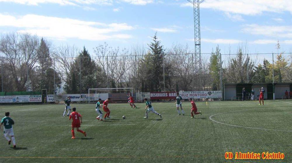 Los Cadetes del CD Almidasvencenpor 1 a 2en un partido jugado de tú a tú en Úbeda