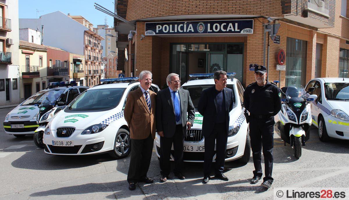 Nuevos vehículos para Policía Local