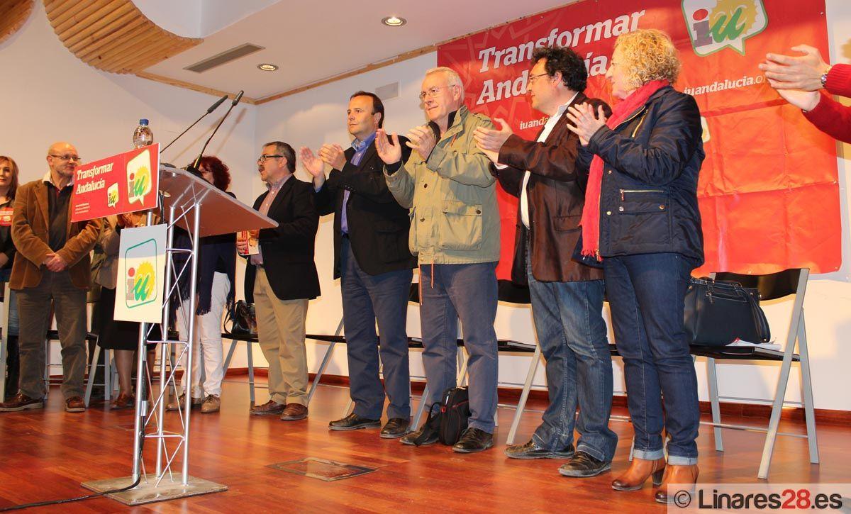 Acto Público de IU en Linares