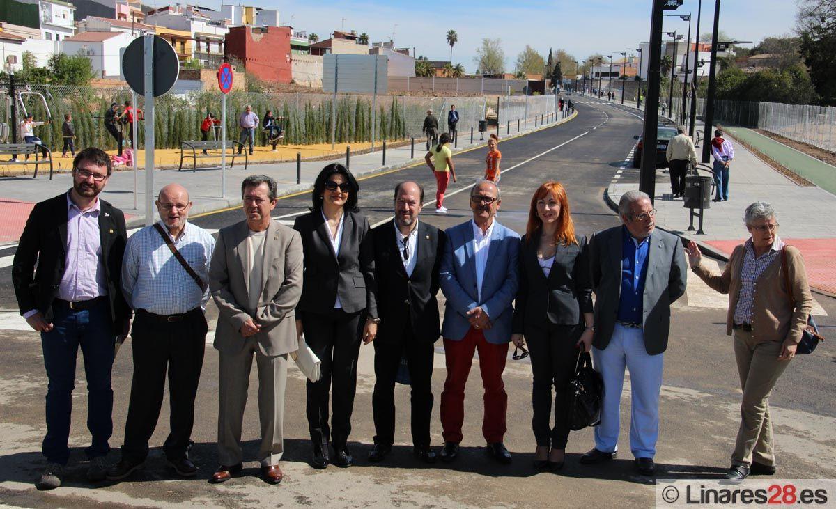 Un nuevo vial para Linares