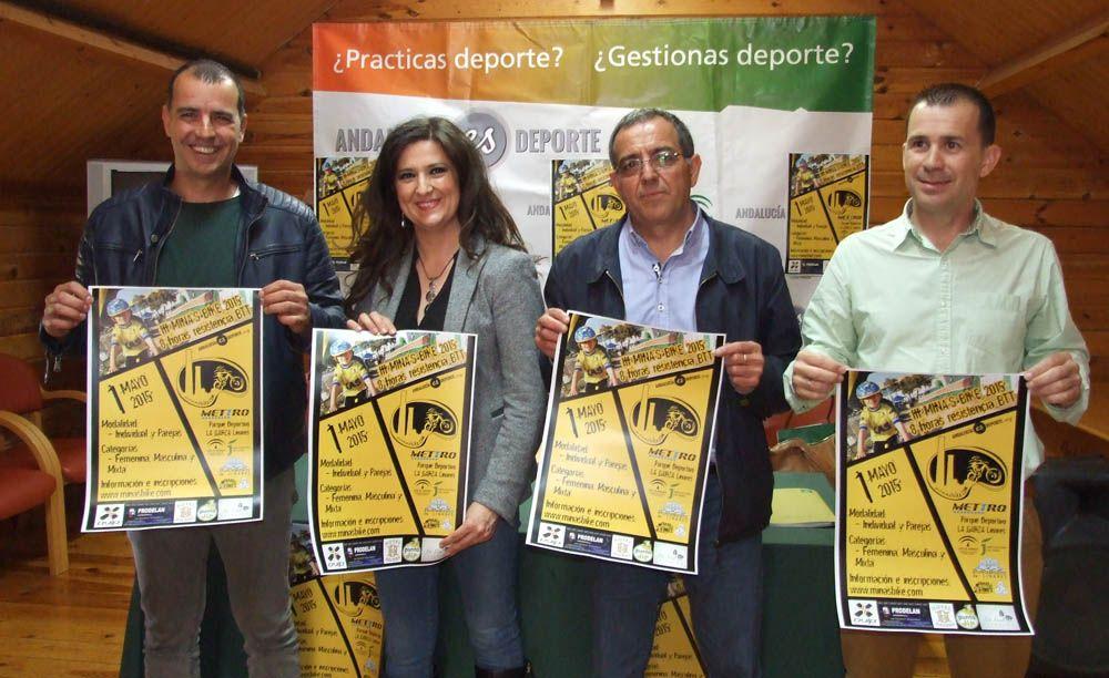 """Más de 200 ciclistas participarán el 1 de mayo en la III Mina's Bike por un circuito de 20 kilómetros en """"La Garza"""" de Linares"""