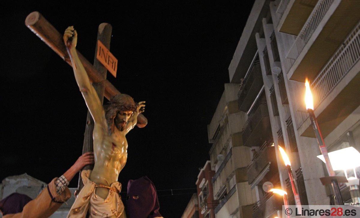 El cierre del Miércoles Santo lo pone el Vía Crucis de la Juventud