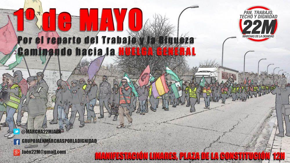 Manifestación del Movimiento de las Marchas de la Dignidad