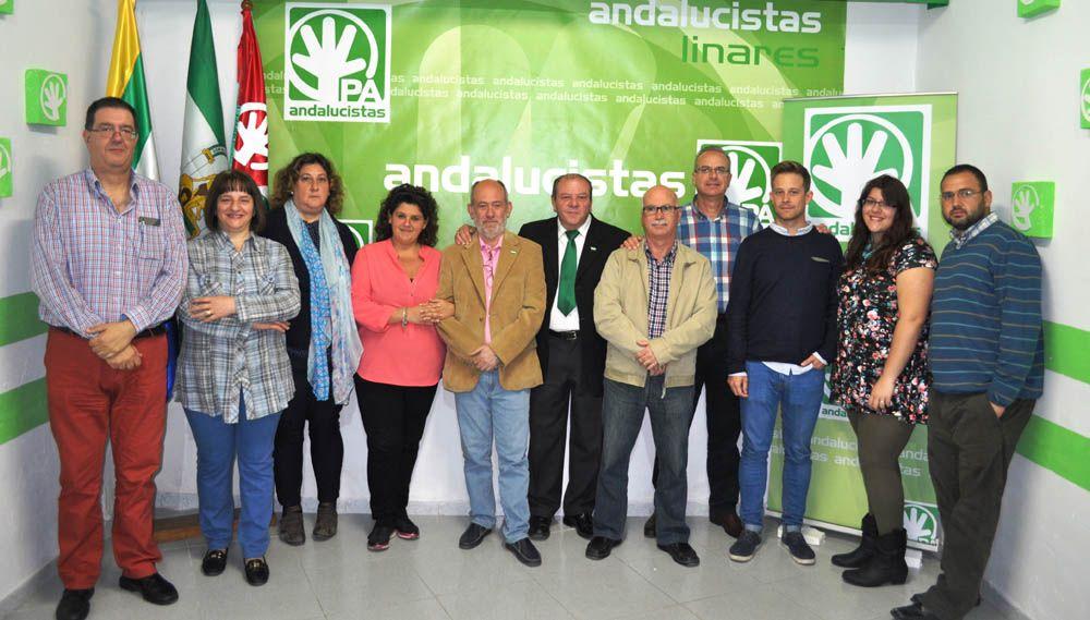 LOS ANDALUCISTAS, PRESENTAN SU CANDIDATURA PARA CONCURRIR A LAS MUNICIPALES DEL 2015