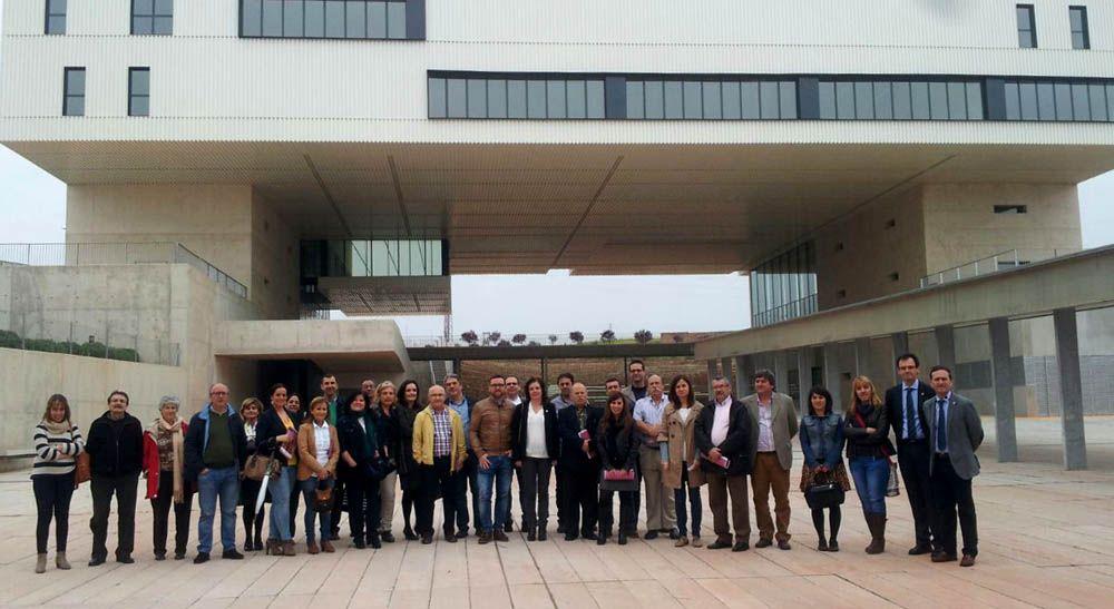 Equipos directivos y orientadores de IES conocen el Campus Científico-Tecnológico de Linares