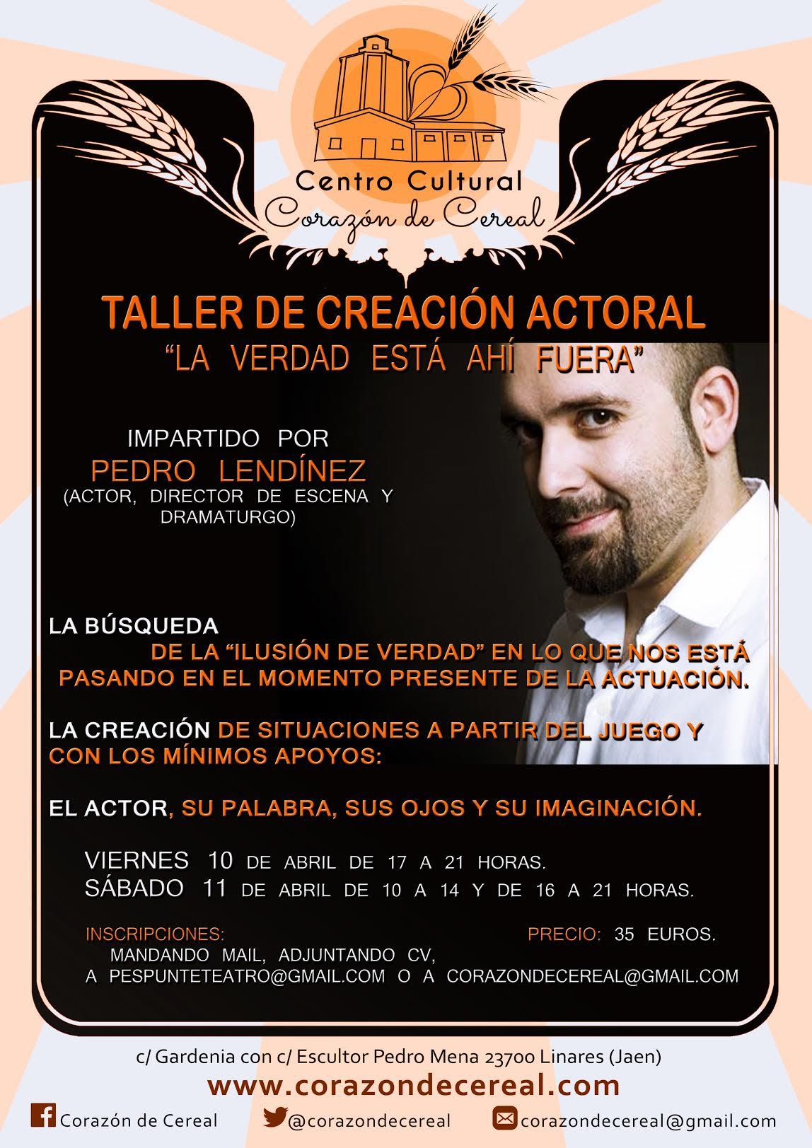 Taller de Creación Actoral