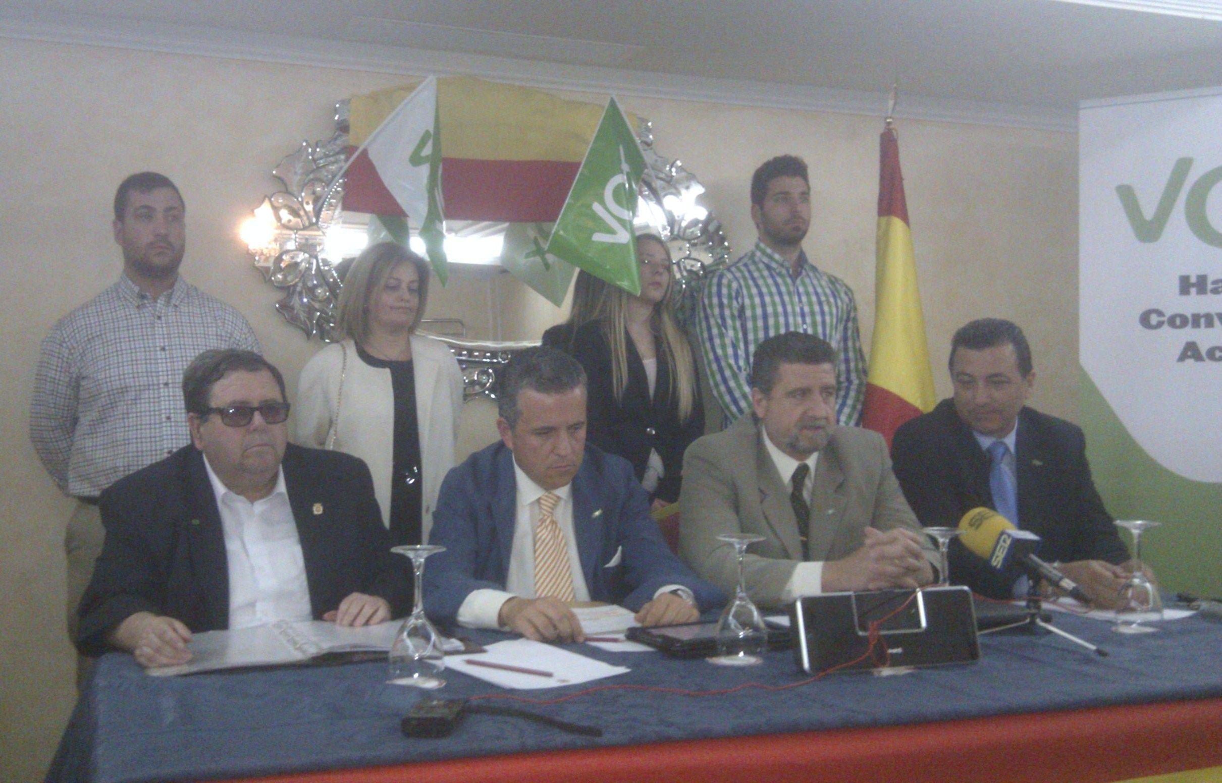 VOX se presenta por primera vez a las municipales en Linares