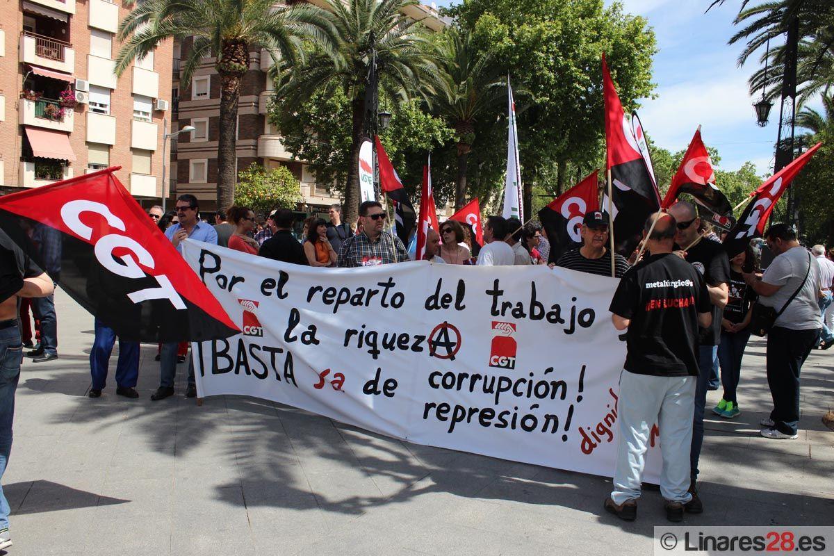 Momento del inicio de la manifestación