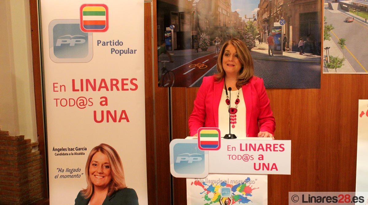 El PP de Linares presenta su programa electoral a la sociedad linarense