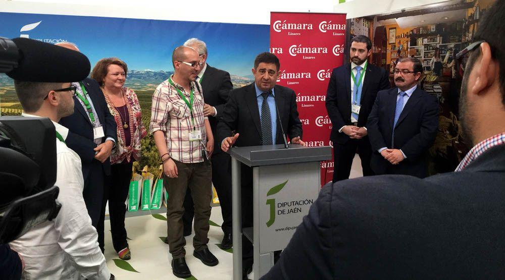 La Cámara de Comercio de Linares organiza un encuentro empresarial en Expoliva 2015