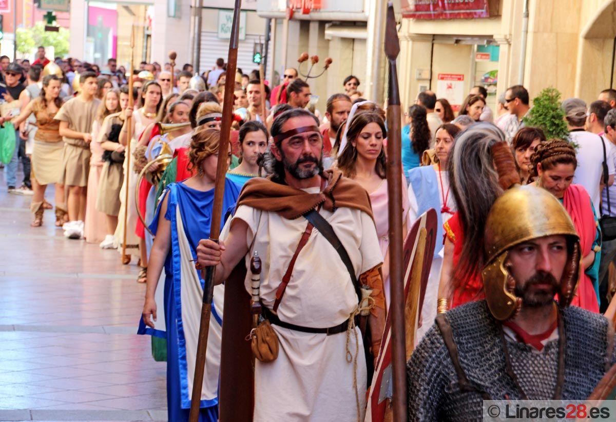 Los Juegos Ibero Romanos de Cástulo atraen a más de 15.000 personas a Linares