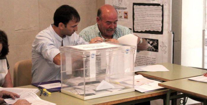 urnas elecciones voto