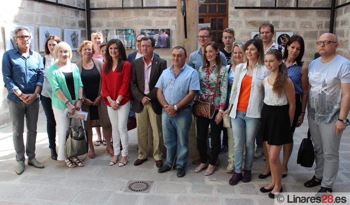 Encuentro de alumnos y profesores europeos en Linares