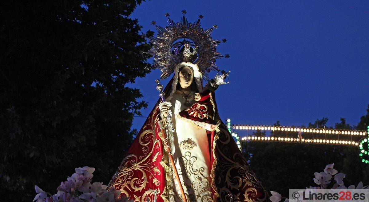 La Virgen de Linarejos protagoniza uno de los actos centrales de las Fiestas del Voto