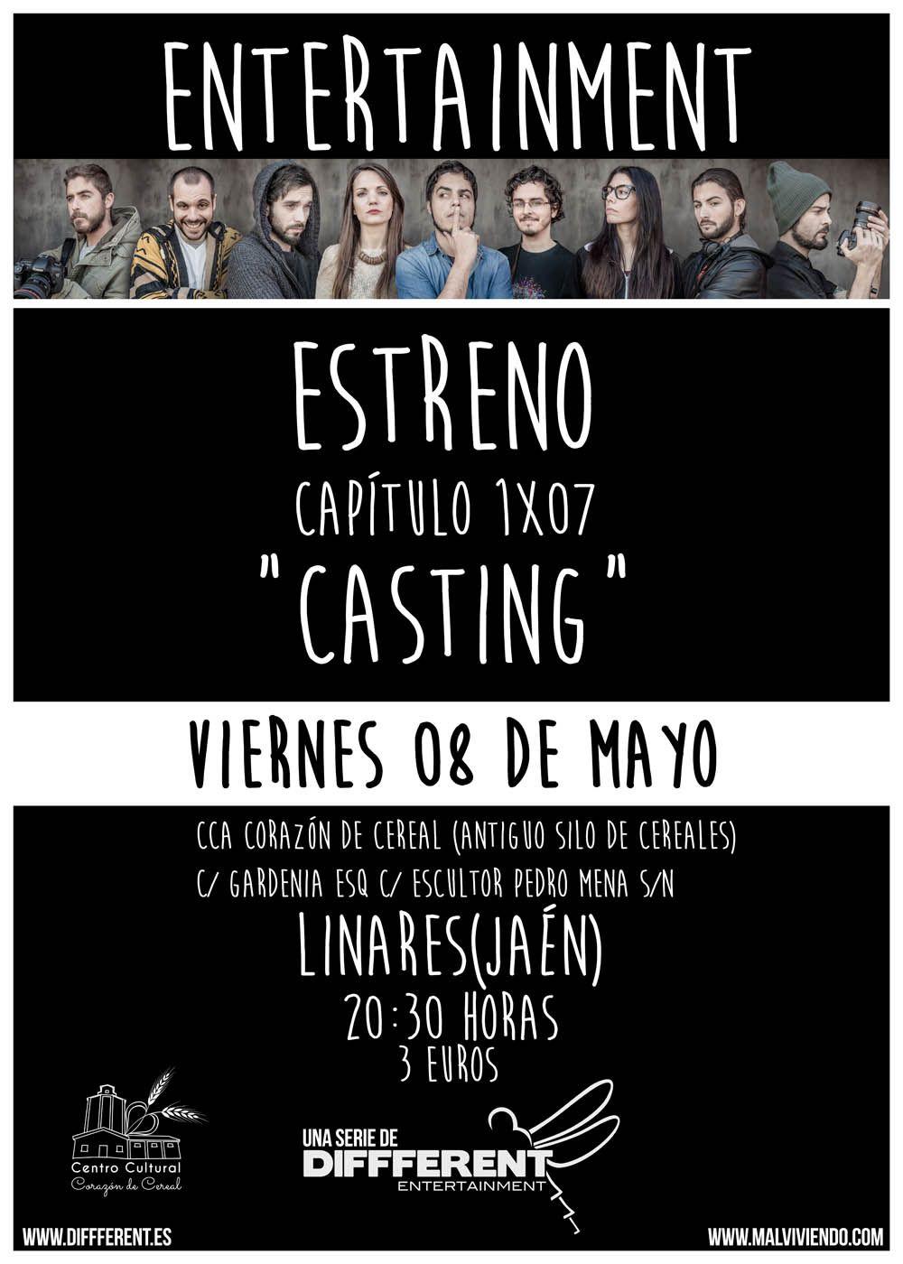 """Proyección """"Casting"""""""