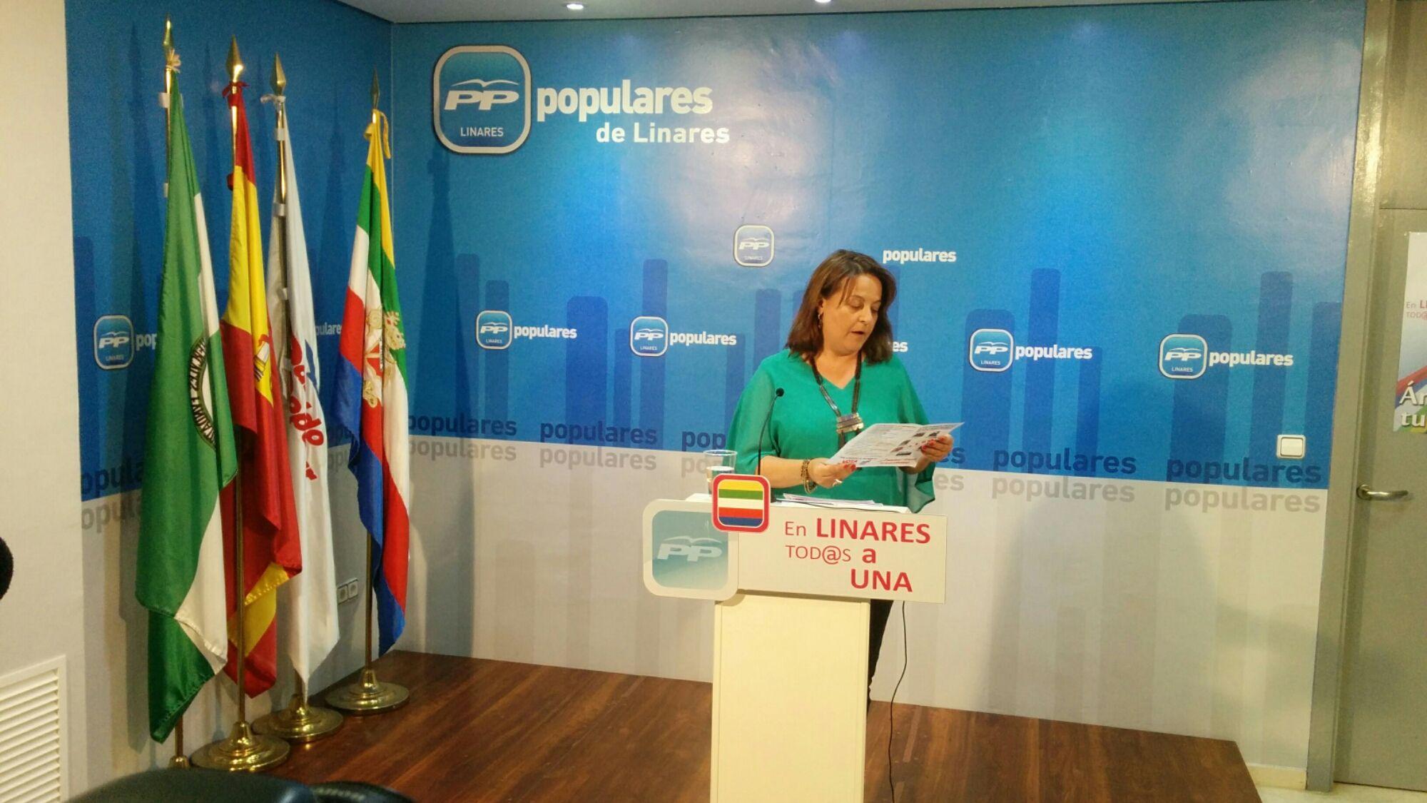 En estos momentos rueda de prensa del Partido Popular