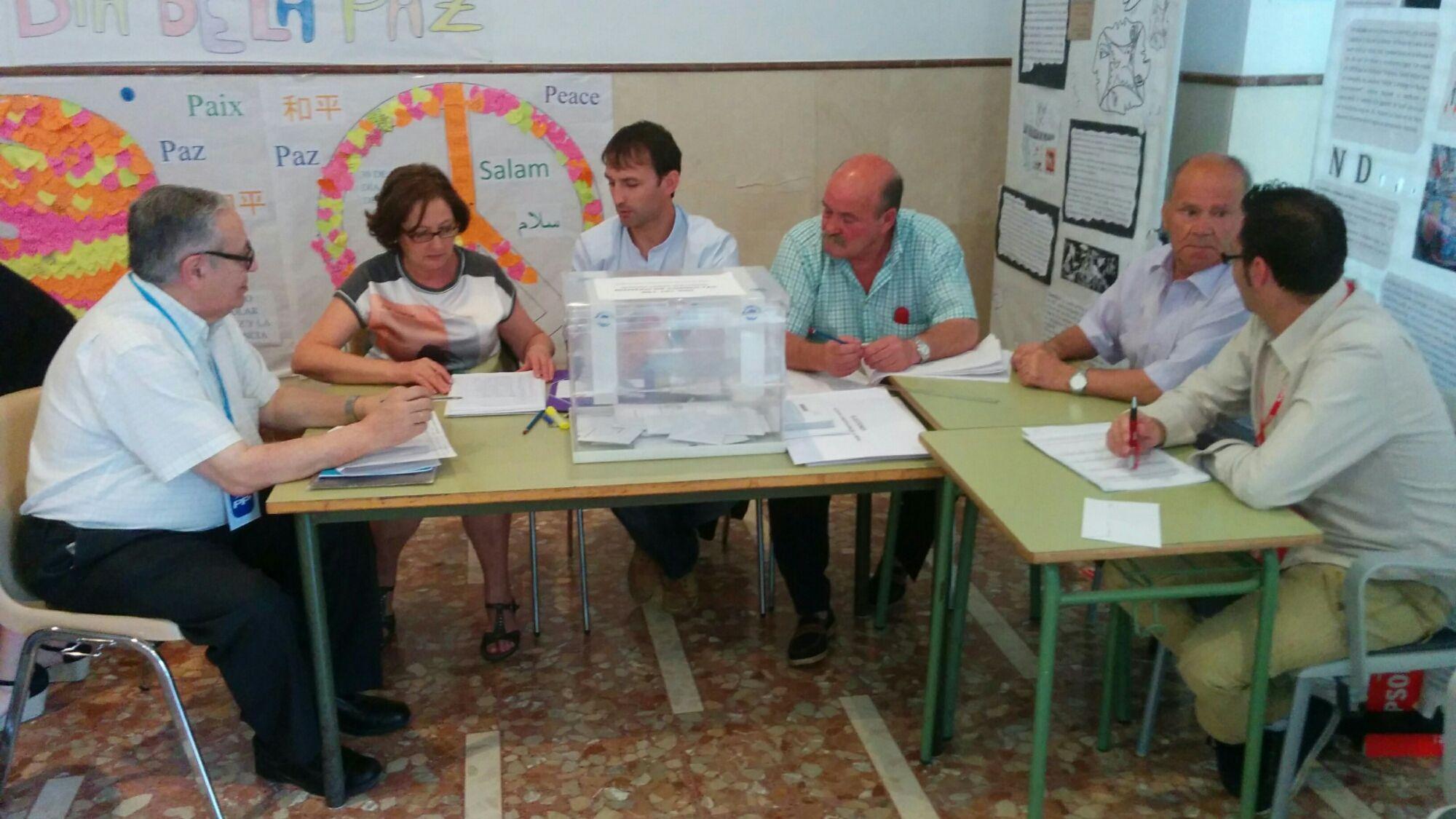 Se confirma la bajada de la participación en Linares en el segundo avance