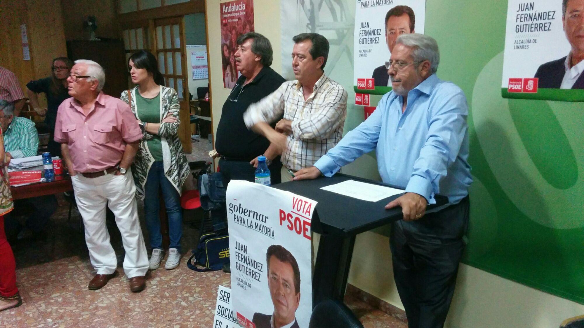 El PSOE gana las elecciones municipales en Linares