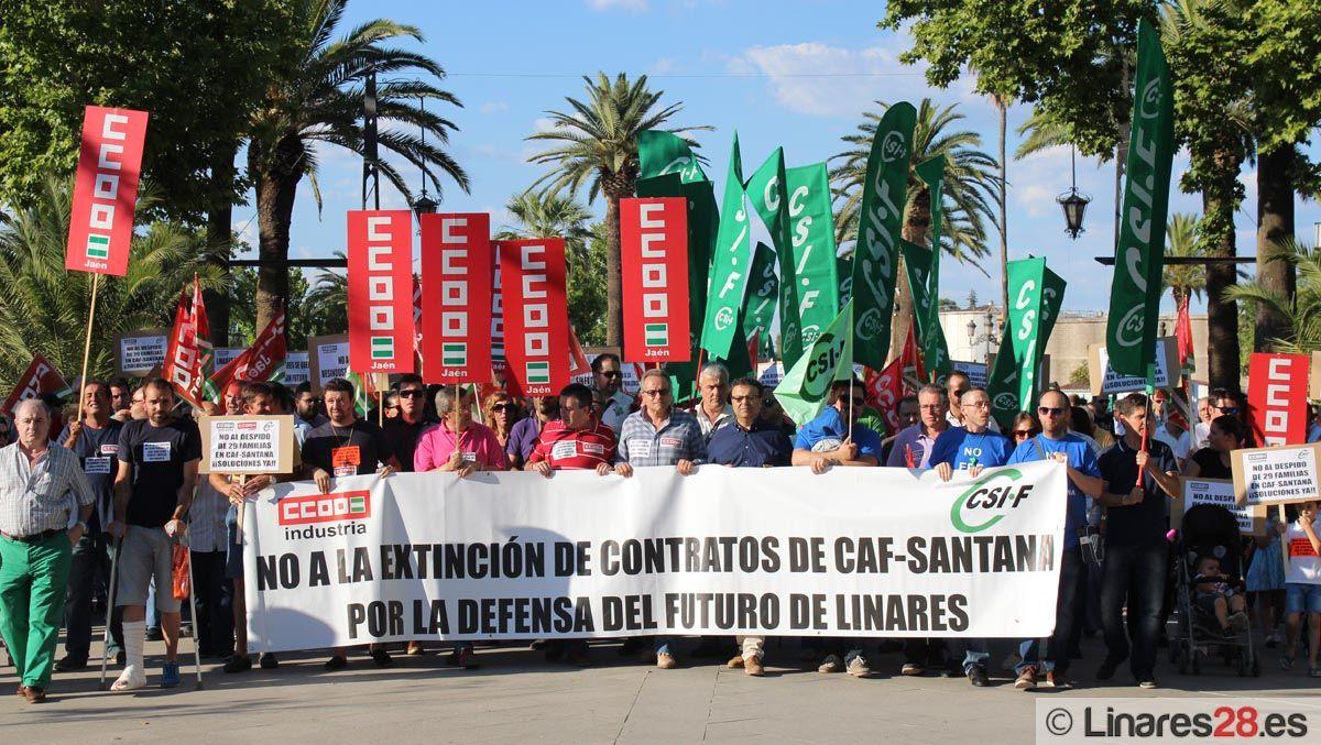 CAF Santana valora ahora posibles alternativas de recolocación para algunos trabajadores