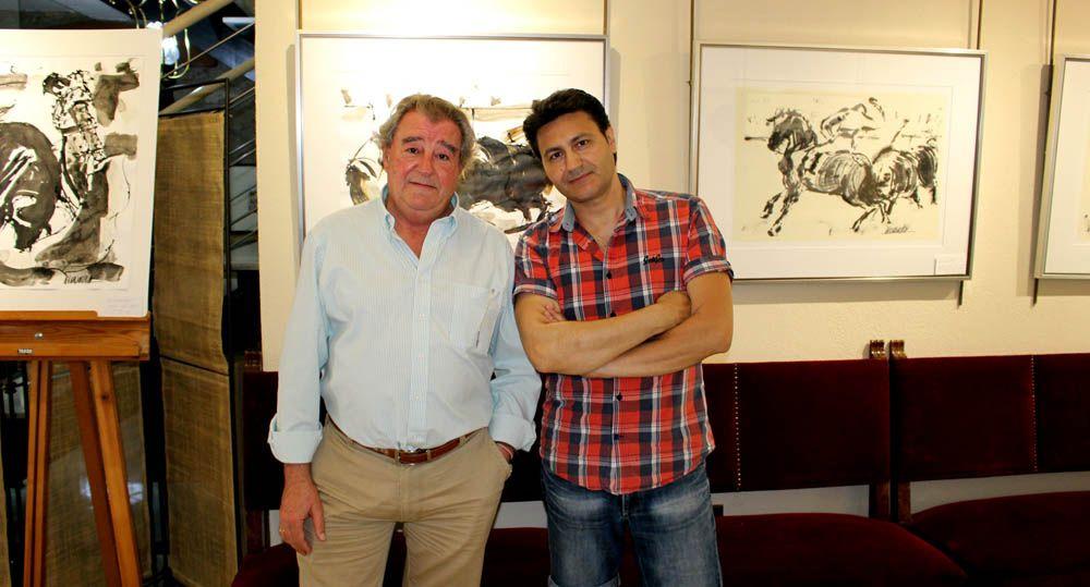 José Manzaneres lleva sus pinturas a Jaén