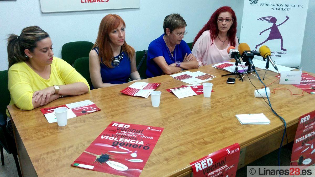 Presentan en Linares la Red Vecinal para la Prevención, Detección y Apoyo a las Víctimas de Violencia de Género
