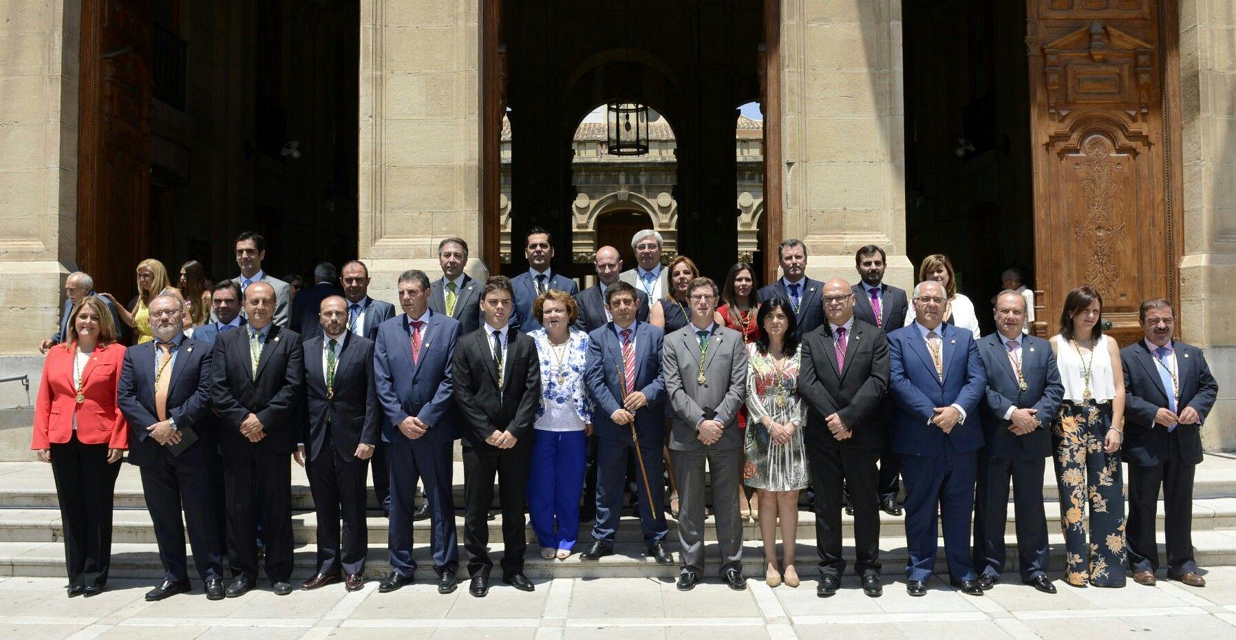 Pilar Parra repite como vicepresidenta de la Diputación de Jaén