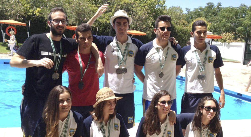 """Actuación """"memorable"""" del Club Natación Linares en Porcuna"""
