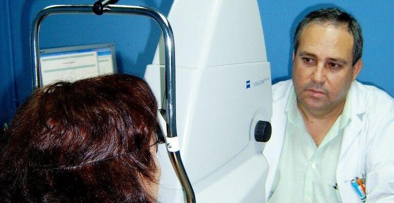 """El centro de salud """"Virgen de Linarejos""""  ha realizado 814 retinografías a pacientes diabéticos en el primer semestre de este año"""