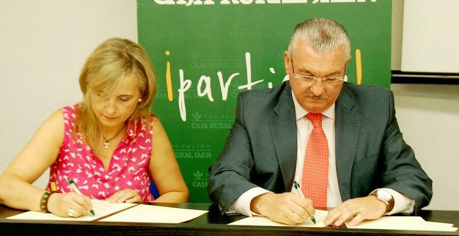 Fundación Caja Rural de Jaén firma un convenio con Cáritas