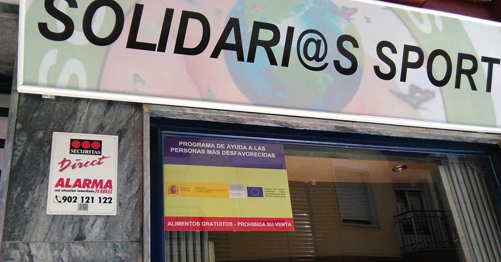 Solidari@s Sport colabora con el Banco de Alimentos