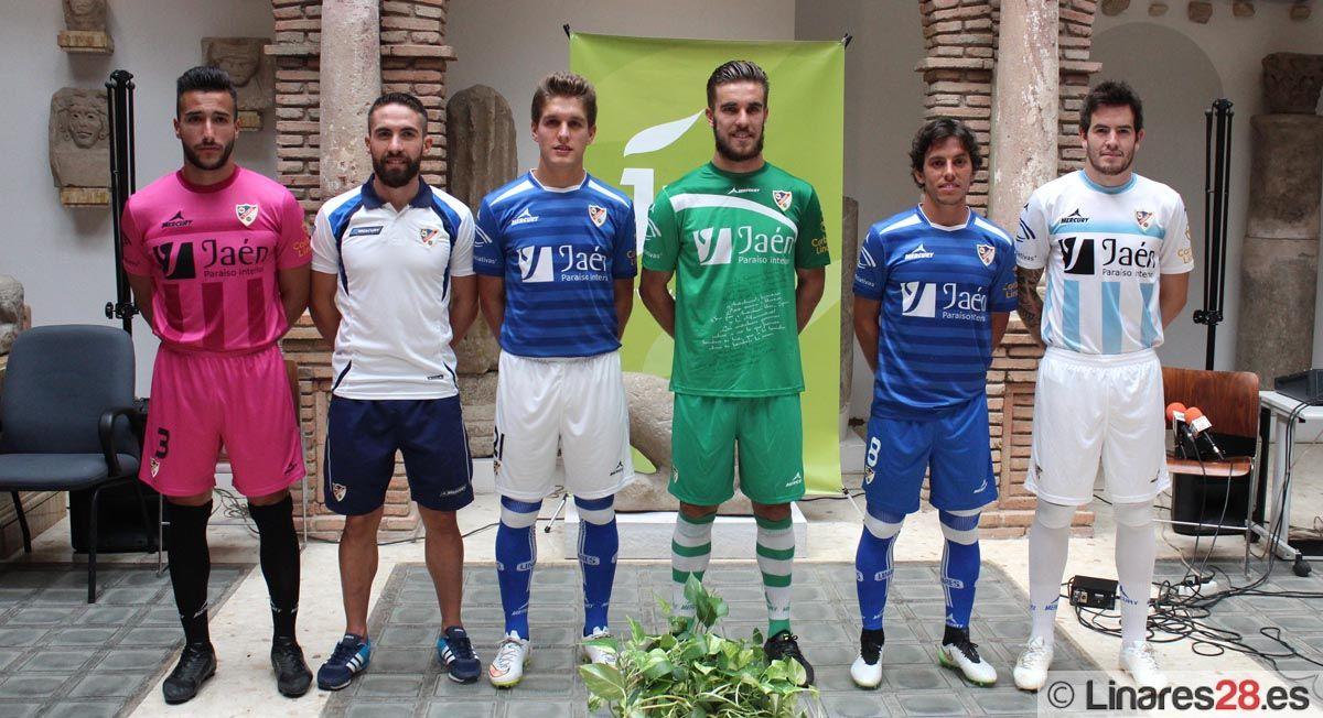 Presentada la nueva equipación del Linares Deportivo
