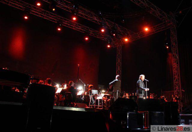 Raphael en directo en Linares