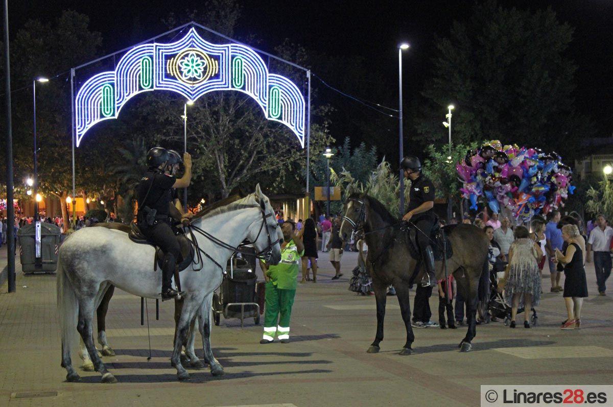 120 efectivos de las FCSE en el dispositivo de seguridad de la Feria de Linares