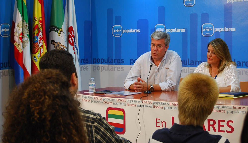 Fernández de Moya destaca las inversiones del Gobierno de España en Linares
