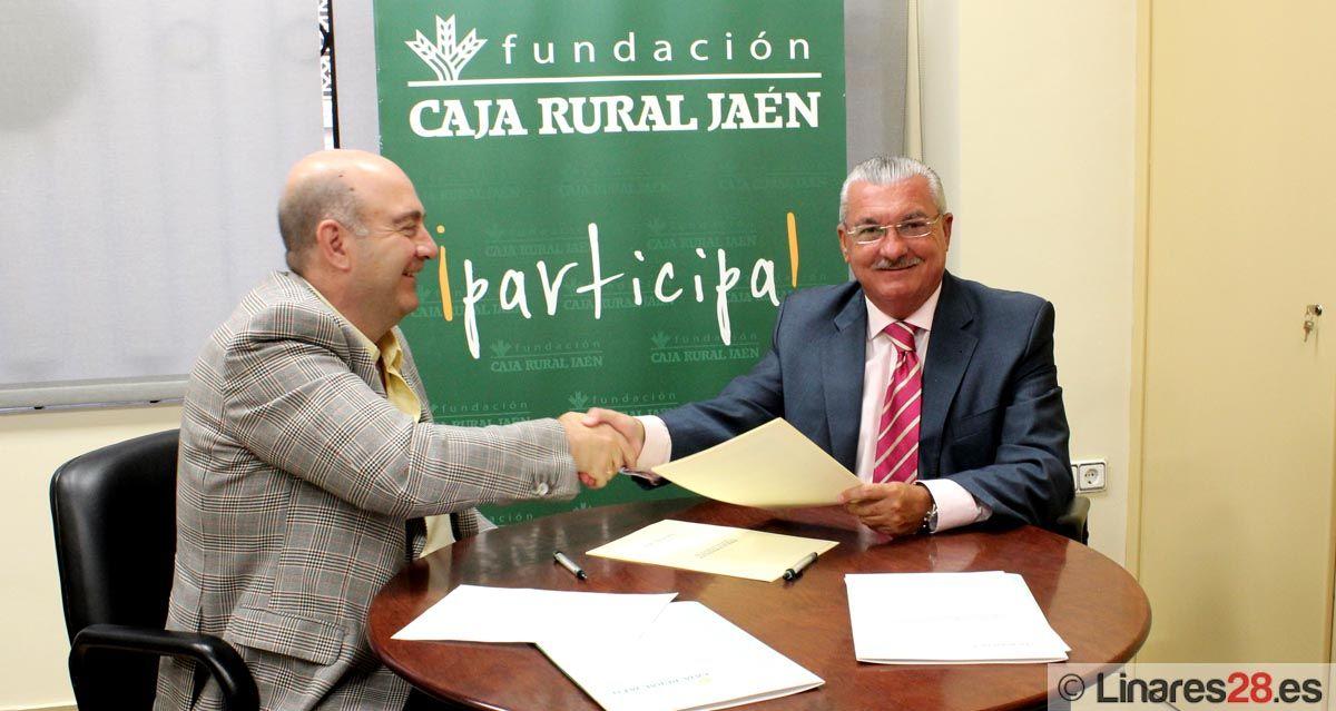 CONVENIO ENTRE CLUB DEPORTIVO ALMIDAS  CÁSTULO DE LINARES Y FUNDACION CAJA RURAL DE JAÉN