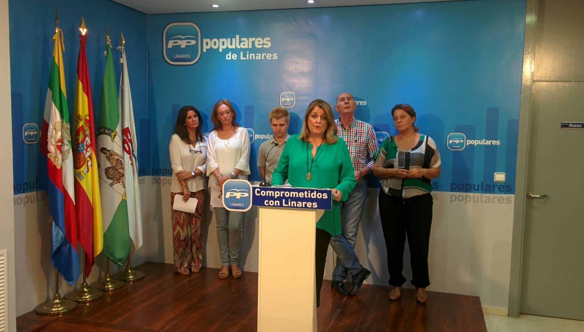 En estos momentos rueda de prensa del PP sobre la Feria
