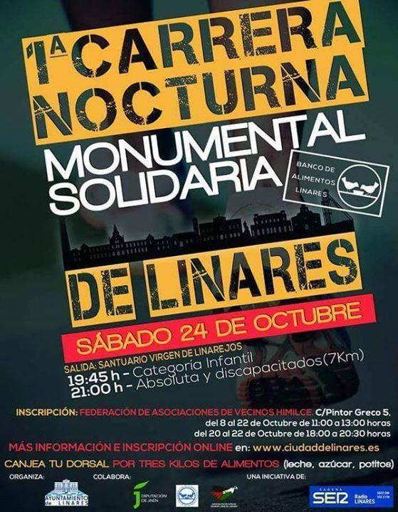 """Preparan la I Carrera Nocturna """"Monumental solidaria"""""""