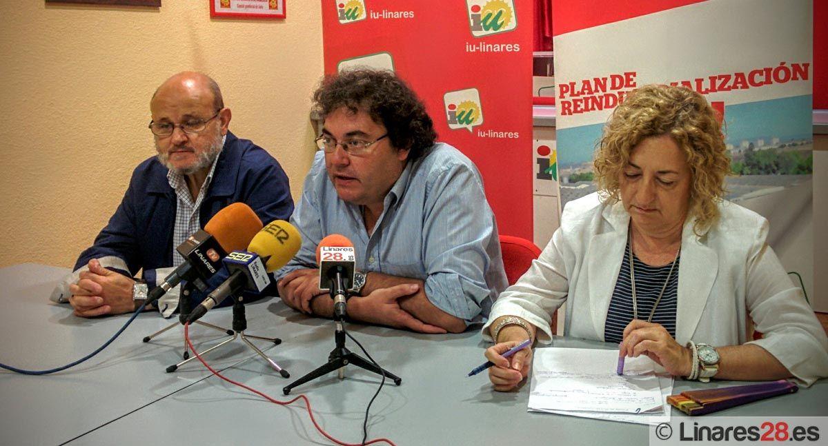 IU analiza el arranque de legislatura en el Ayuntamiento de Linares