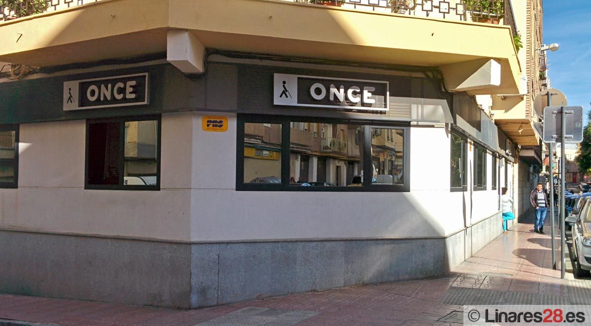 La ONCE reparte más de 1,2 millones en Linares, incluida La Paga de 3.000 euros al mes durante 25 años