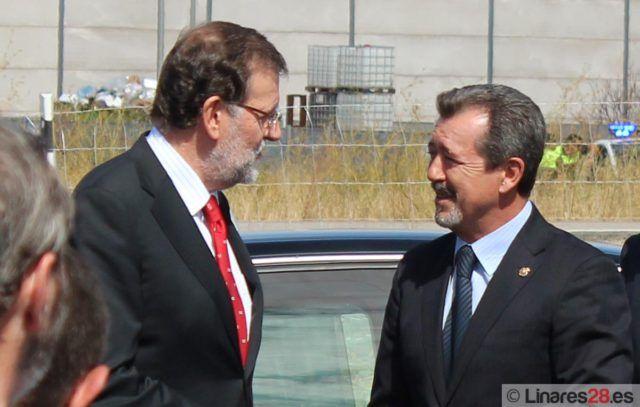 Mariano Rajoy y Juan Fernández