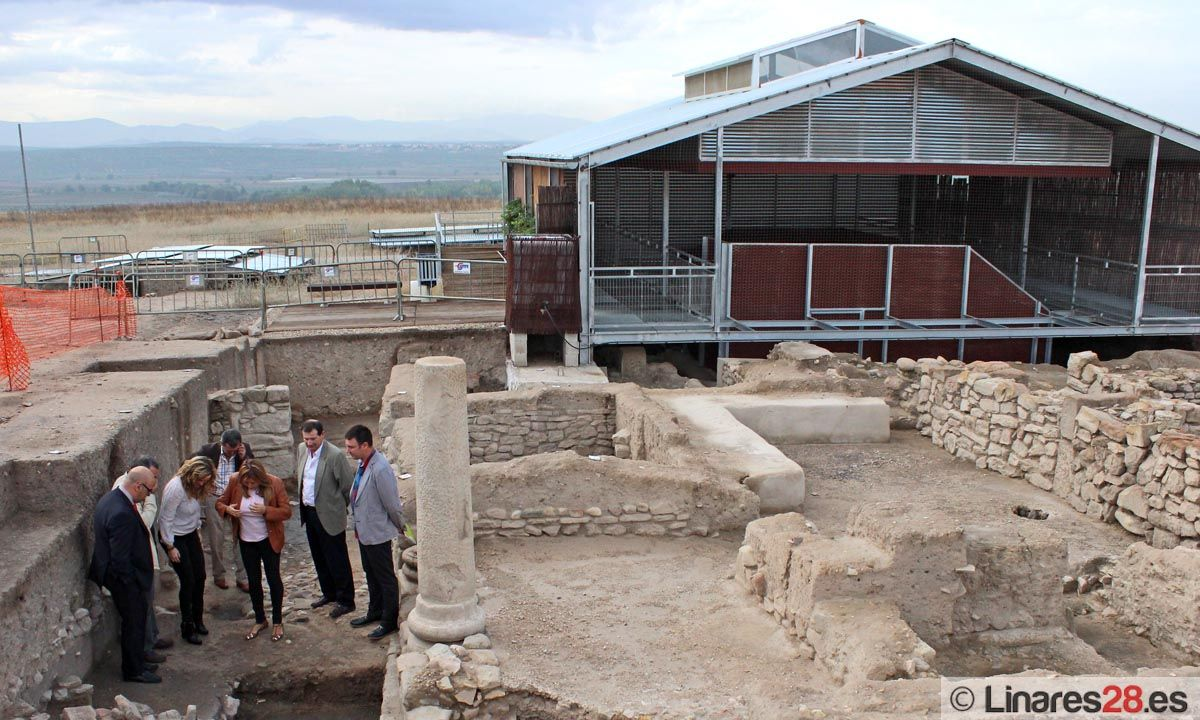 El edificio cristiano de Cástulo será acondicionado tras una inversión de más de 120.000 euros de la Diputación