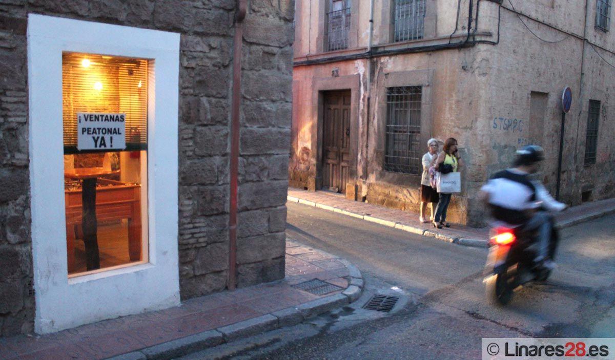 FACUA apoya la peatonalización de la calle Ventanas