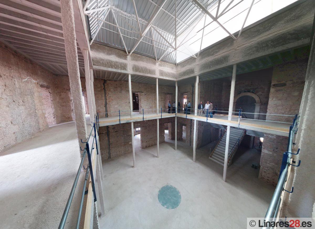 Obras del Palacio Municipal de Linares
